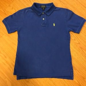 Royal Blue Ralph Lauren Polo shirt size M 10-12